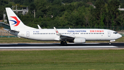 B-1422 - Boeing 737-89P - China Eastern Airlines