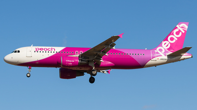 JA820P - Airbus A320-214 - Peach Aviation