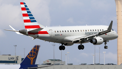 A picture of N441YX - Embraer E175LR - American Airlines - © Brian T Richards