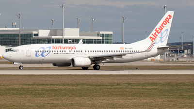A picture of ECLUT - Boeing 73785P - Air Europa - © Niklas Engel