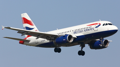 G-EUPF - Airbus A319-131 - British Airways