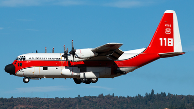 N118Z - Lockheed HC-130H Hercules - United States - US Forest Service (USFS)