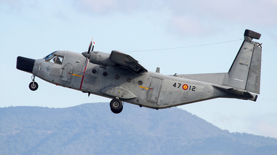 TM.12D-72 - CASA C-212-200 Aviocar - Spain - Air Force