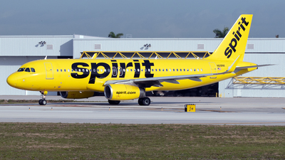 A picture of N618NK - Airbus A320232 - Spirit Airlines - © PAUL LINK