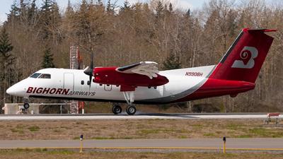 A picture of N990BH - De Havilland Canada Dash 8100 - Bighorn Airways - © Logan m