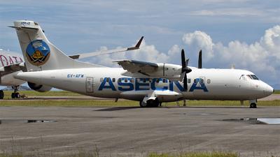 6V-AFW - ATR 42-300 - Agence pour la Sécurité de la Navigation Aérienne en Afrique et à Madagascar (ASECNA)