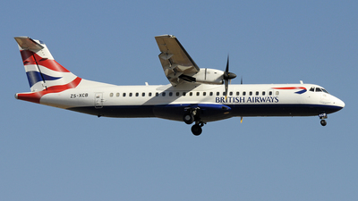 ZS-XCB - ATR 72-212 - British Airways (Comair)