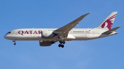 A picture of A7BCF - Boeing 7878 Dreamliner - Qatar Airways - © Alejandro Gutierrez Martin