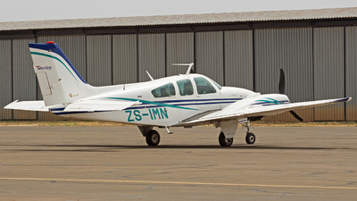 ZS-IMN - Beechcraft E55 Foxstar - Westline Aviation