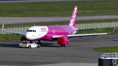 F-WWDQ - Airbus A320-251N - Peach Aviation