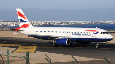 G-GATK - Airbus A320-232 - British Airways