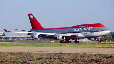 N673US - Boeing 747-451 - Northwest Airlines