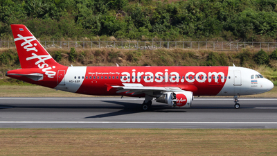 A picture of HSABP - Airbus A320216 - AirAsia - © Azimi Iahra