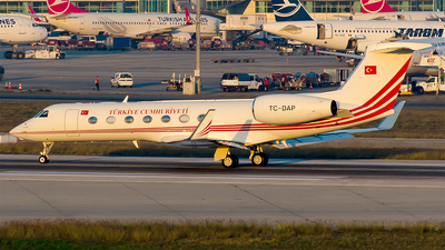 TC-DAP - Gulfstream G550 - Turkey - Government