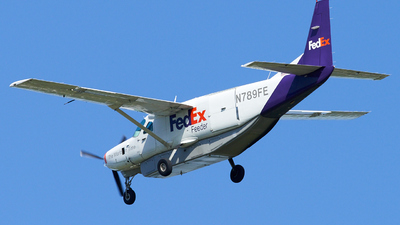 A picture of N789FE - Cessna 208B Super Cargomaster - FedEx - © Zachary Wilkie