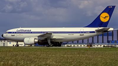 D-AICH - Airbus A310-203 - Lufthansa