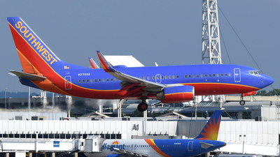 N7730A - Boeing 737-7BD - Southwest Airlines