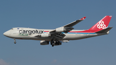 LX-TCV - Boeing 747-4R7F(SCD) - Cargolux Italia Airlines