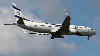 4X-EKI - Boeing 737-86N - Sun d'Or International Airlines