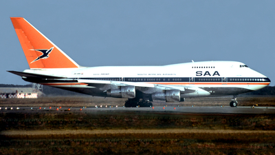 ZS-SPE - Boeing 747SP-44 - South African Airways