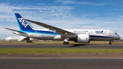 JA806A - Boeing 787-8 Dreamliner - All Nippon Airways (Air Japan)