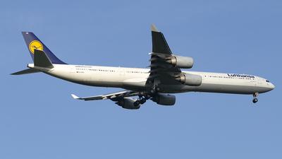 D-AIHN - Airbus A340-642 - Lufthansa