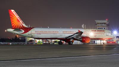 VT-PPA - Airbus A321-211 - Air India