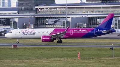 HA-LVG - Airbus A321-271NX - Wizz Air