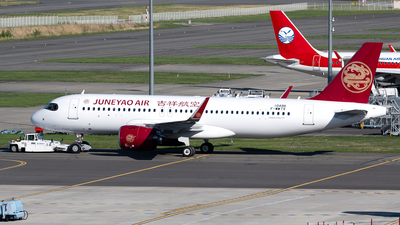 F-WWTV - Airbus A320-271N - Juneyao Airlines
