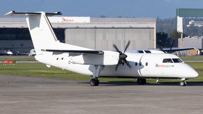 A picture of CGNCJ - De Havilland Canada Dash 8100 - Central Mountain Air - © Brandon Siska