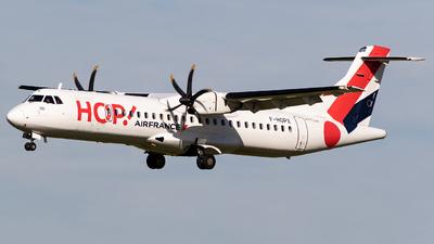 F-HOPX - ATR 72-212A(600) - HOP! for Air France