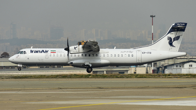 EP-ITD - ATR 72-212A(600) - Iran Air