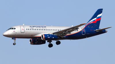 A picture of RA89025 - Sukhoi Superjet 10095B - Aeroflot - © Vitaly Revyakin