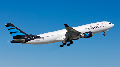5A-ONH - Airbus A330-202 - Afriqiyah Airways