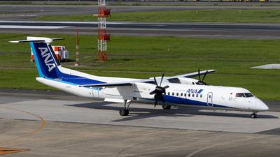 A picture of JA465A - De Havilland Canada Dash 8400 - All Nippon Airways - © Oryo427