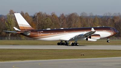 M-IABU - Airbus A340-313E - Klaret Aviation