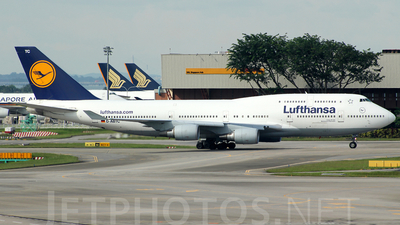 D-ABTC - Boeing 747-430(M) - Lufthansa