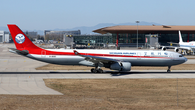 A picture of B8690 - Airbus A330343 - Sichuan Airlines - © Brian