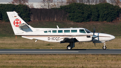 D-ICCC - Reims-Cessna F406 Caravan II - Air-Taxi Europe