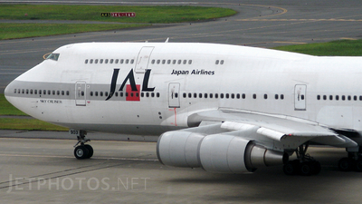JA8903 - Boeing 747-446D - Japan Airlines (JAL)