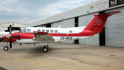 ZS-MCE - Beechcraft 200 Super King Air - National Airways Corporation (NAC)
