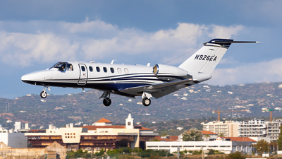 N926EA - Cessna 525B CitationJet CJ3+ - Private