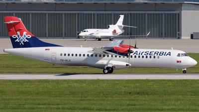 YU-ALU - ATR 72-212A(500) - Air Serbia