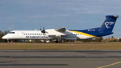A picture of TFFXI - De Havilland Canada Dash 8400 - Air Iceland Connect - © Łukasz Stawiarz