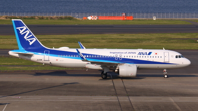 A picture of JA211A - Airbus A320271N - All Nippon Airways - © Y. Yoshida