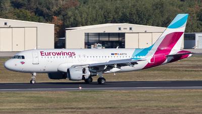 D-ASTX - Airbus A319-112 - Eurowings (Germanwings)