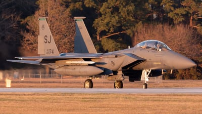 87-0174 - McDonnell Douglas F-15E Strike Eagle - United States - US Air Force (USAF)
