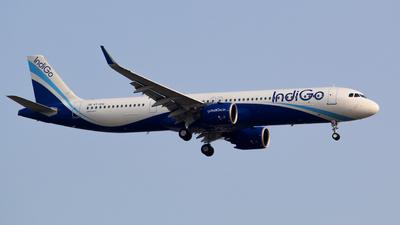 A picture of VTIUQ - Airbus A321271NX - IndiGo - © Krishna 777