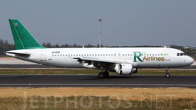 HS-RCB - Airbus A320-211 - R Airlines