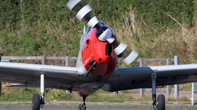 G-CIGE - De Havilland Canada DHC-1 Chipmunk 22 - Private